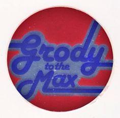 Sandylion Foil Vintage 80's Grody To The Max Sticker Mod - Trimmed