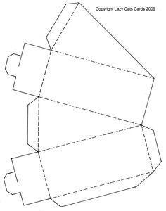Download the free Circular Cake Slice Box PDF template