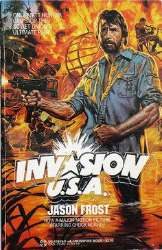Thursday Rewind: Invasion U.S.A. by Jason Frost (Crossfire, 1985)