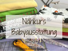 Kids Clothing DIY Challenge We sew a baby equipment. Every Sunday a sewing instruction including a sewing pattern appears here, also ideal for sewing beginners. Baby Set, Sewing Patterns Free, Free Sewing, Sewing Tips, Diy Clothes Bleach, Baby Equipment, Diy Bebe, Baby Kind, Sewing Projects For Beginners