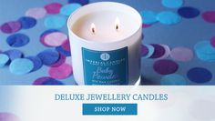 100% Hand Made Scented Soy candles with a Stunning piece of Jewellery hidden inside , worth from £10 to £2,000