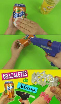 ¡Elabora tus propios brazaletes de silicona!