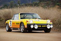 The 7 cars we're watching most at the 2020 Arizona Auctions - Real Time - Diet, Exercise, Fitness, Finance You for Healthy articles ideas Porsche 914 6, Porsche Sportwagen, Porsche Sports Car, Yellow Car, Vintage Porsche, Classic Sports Cars, Fender Flares, Twin Turbo, Chevrolet Corvette