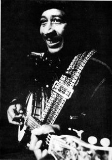 Abner Jay: The self-described 'last working Southern black minstrel', Abner Jay was an itinerant one-man band who travelled across the American South in a converted mobile home that opened up into a portable stage, complete with amplification and home furnishings.