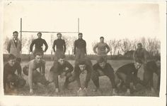 ca. 1919 Foot Ball Team Antique Real Photo by Starpower999 on Etsy