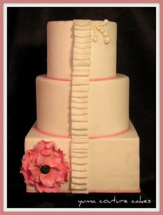 Cakes in yuma arizona great scroll work simple elegant yuma arizona wedding cake julie via flickr junglespirit Gallery