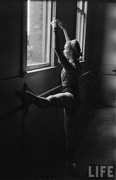 ballet dancer, 1949, edward clark