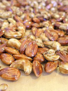 Candied Maple Nuts