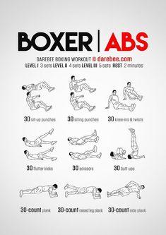 Boxer Abs Workout - Concentration - Abdominal Muscles More Fast Weight Loss Para Informações Acesse nosso Site http://storelatina.com/blog #detox #detoxify #diet #emagracer