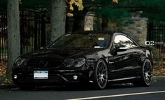 Mercedes SL55 with 20″ D2FORGED MB1 wheels
