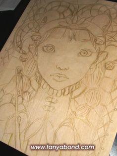 #WIP #TheFool #Fool #TanyaBond #78Tarot #seventyeighttarot #tarot #sketch #bigeye #popsurrealism #concept #drawing #woman #jester https://www.facebook.com/TanyasCharmingCreatures