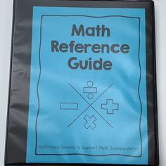Help your students build independence during math. These reference sheets are a great tool to put in a binder or for students to glue in their math journals. Each tab provides students with… Math Journal Labels, Math Journal Prompts, Journal Ideas, Math Strategies, Math Resources, Math Activities, Interactive Math Journals, Math Notebooks, Math Reference Sheet