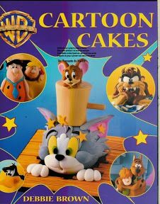 Cartoon Cakes (Warner Brothers) book by Debbie Brown Cake Decorating Books, Debbie Brown, Kids Cookbook, Dessert Cookbooks, Hanna Barbera, Tom And Jerry, Novelty Cakes, Candy Party, Album
