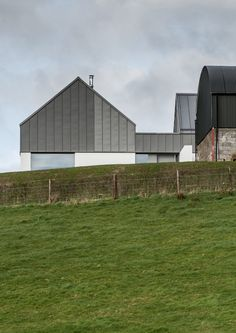 Gallery of House Lessans by McGonigle McGrath Wins RIBA House of the Year 2019 - 7 Residential Architecture, Contemporary Architecture, Zinc Roof, Agricultural Buildings, Grand Designs, Architect Design, Luxury Homes, Building A House, New Homes