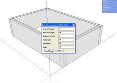 Dovetail Joints in SketchUp Made Easy
