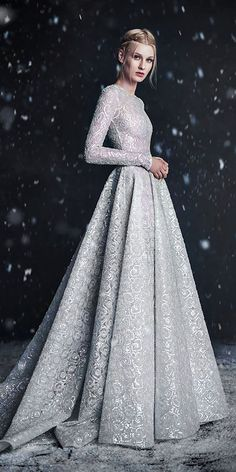 18 Winter Wedding Dresses & Outfits ❤ See more: http://www.weddingforward.com/winter-wedding-dresses-outfits/ #weddings #dress
