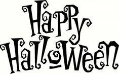 Happy Halloween Vinyl Decal