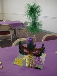 one of the center pieces