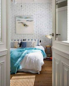 Galleria foto - Parete in mattone in camera da letto Foto 30
