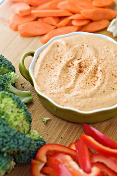 Roasted Red Pepper and Chipotle Hummus by Courtney | Cook Like a Champion, via Flickr