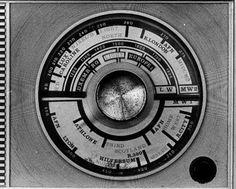 Radio dial,1960s