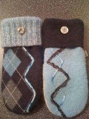 Gonna learn to make mittens from old sweaters. (No tutorial! This is just a site with ideas to steal.)