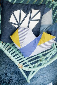 Throw Pillows, Jeans, Coat Storage, Toss Pillows, Cushions, Decorative Pillows, Decor Pillows, Scatter Cushions, Denim