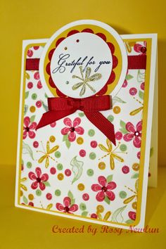 Love this sweet, simple card made with the Sweet Dreams ...