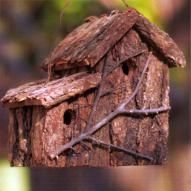 """Give your fine feathered friends a warm and comfortable place to visit. Rocky Mountain Cabin Decor offers a great variety of bird houses, all in """"ready to move in"""" condition for all the birds in your neighborhood. Our decorative western birdhouses and natural bark birdhouses are more than just functional, welcoming retreats for your winged neighbors; they're also beautifully crafted pieces of art that will dress up your yard and give a touch of whimsy to your garden. These wonderful country b.."""