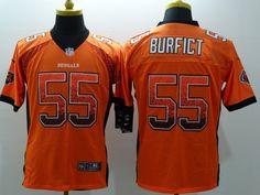 c277d22b1cd Cincinnati Bengals 55 burfict Orange 2015 Nike Elite Drift Fashion Jersey