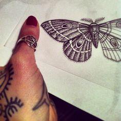Hannah Snowdon -- UK 3 Tattoo, Time Tattoos, Cool Tattoos, Tattoo Flash, Tatoos, Hannah Snowdon Tattoo, Hannah Pixie Snowdon, Under My Skin, Black Dots