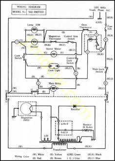 bfb25f66a53b309bd3470611dc7fdba2 oven range microwave oven notes on the troubleshooting and repair of microwave ovens wall oven wiring diagram at bayanpartner.co