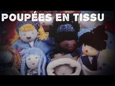 Tuto poupées en tissu - YouTube