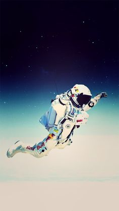 ↑↑TAP AND GET THE FREE APP! Art Creative Space Funny Flight Astronaut Gravity HD iPhone Wallpaper