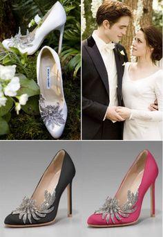 Свадебные туфли Беллы от Manolo Blahnik