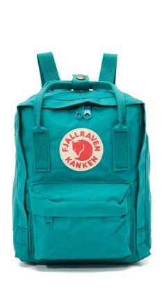 Fjallraven Kanken Mini Backpack - Ocean Green   SHOPBOP.COM saved by #ShoppingIS