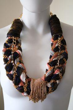 Anita Quansah fabric jewelry