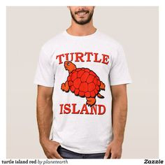 turtle island red T-Shirt