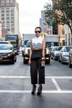 Where do you work? Owner of Satine Boutique What show are you here to see? Thakoon via @stylelist   http://aol.it/1w7ZP7o