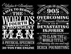 Typography Inspiration III | BCD – talkin' trash