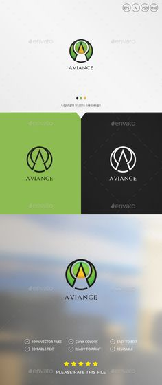 Alliance Logo by Exe-Design •Logo Template 100% •Re-sizable vector 100% •Editable text Easily customizable colors AI