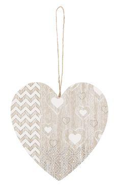 Primark - Wooden Heart Plaque