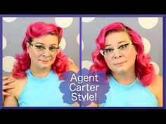 Agent Carter Hair Tutorial ~ Two Looks in One! - YouTube