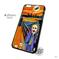 SCREAM BATMAN and JOKER New Hot Phone Case For Apple, iPhone, iPad, iPod, Samsung Galaxy, Htc, Blackberry Case