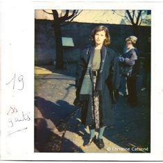 Irène Jacob on the set of La double vie de Véronique (Krzysztof Kieślowski - 1991). Photos by Christine Catonné