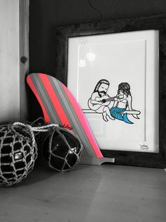SurfArt. Longboard. GlassFloat. http://www.ikiyasuo.com