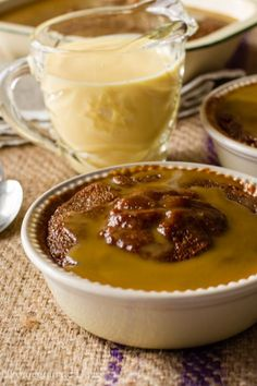 I love this warm baked saucy pudding; it is a traditional South African dessert. This recipe for Malva Pudding is baked in a sweet, sticky caramel sauce.