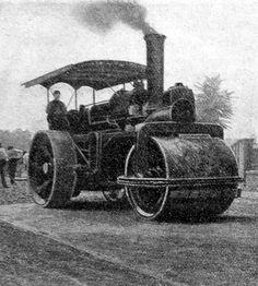Gőzhenger munkában Techno, Antique Cars, Monster Trucks, Antiques, Vehicles, Vintage Cars, Antiquities, Antique, Vehicle