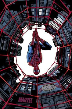 #Amazing #Spiderman #Fan #Art. (Amazing Spider-Man #1 exclusive variant cover) By: Hunberto Ramos.