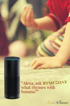 RhymeZone - www.theteelieblog.com Find rhymes, synonyms, related words, and adjectives for any word, and get help with crossword puzzle clues through your Echo. #alexaskills